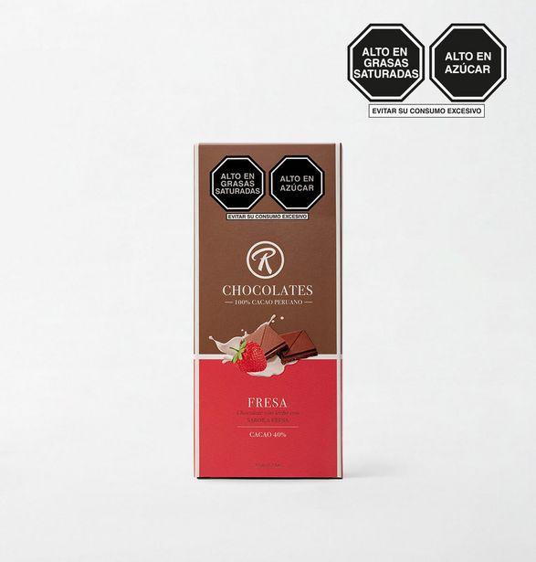 Oferta de TABLETA DE CHOCOLATE CAJA TAB DE CHO RE CO 35 g por S/ 7,9