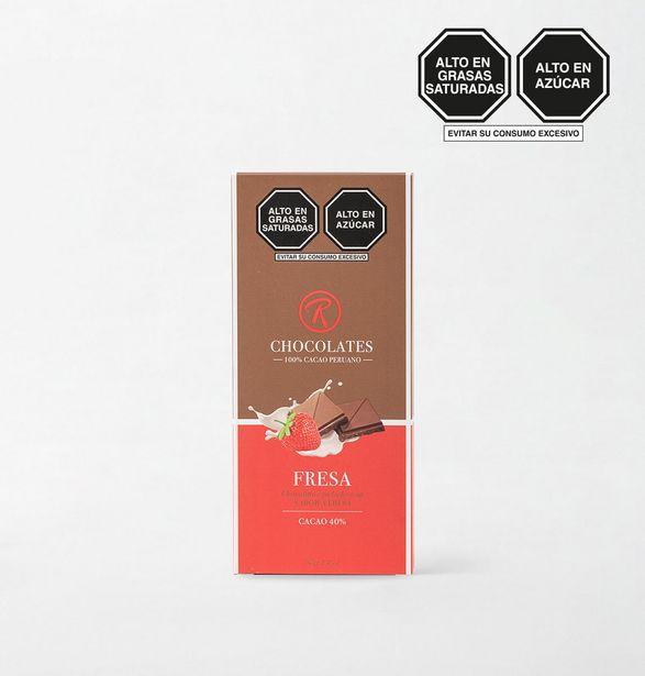 Oferta de TABLETA DE CHOCOLATE CAJ TAB DE CH THE-18 RE CO 70g por S/ 19,9